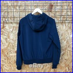 £395 Stone Island Soft Shell Jacket M MEDIUM slate blue