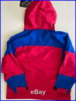 $500 Nike ACG Gore-Tex Men's Sz Large Jacket Blue Rush Pink BQ3445-666