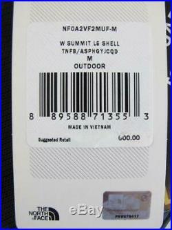 $600 The North Face NEW Summit Series L5 Gore-Tex Womens Medium Ski Shell Jacket