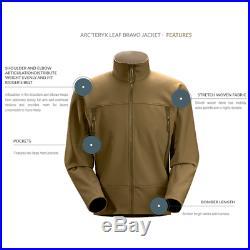 ARCTERYX LEAF Bravo Jacket Crocodile Soft Shell BNWT Size XXL RRP £240
