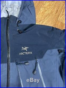 ARCTERYX Mens Goretex XSR Ski Snowboard Softshell Jacket Vtg Sz L