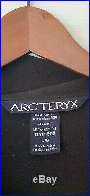 ArcTeryx Hooded Softshell Mens Large