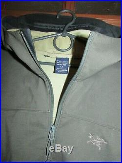 Arc'teryx Epsilon-lt Hoody Jacket Softshell Dwr Mens Large $250rp