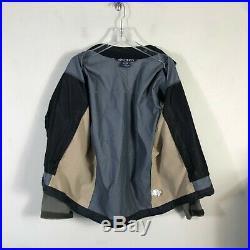 Arcteryx Soft Shell Jacket Men's L Beige Olive Light Weight Water Resistant Coat