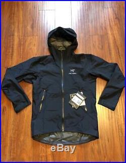 Arcteryx Zeta Sl Mens Medium Black Gore-tex Jacket Shell