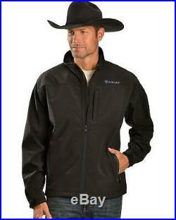 Ariat Men's Vernon Softshell Jacket Black XX-Large