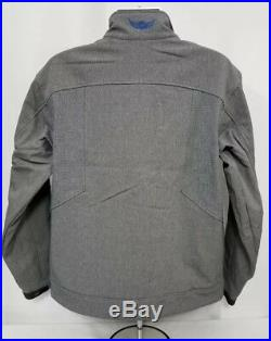 Ariat Relentless Willpower Softshell Jacket. Men's size LARGE in Charcoal