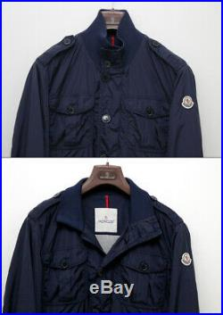 Authentic Moncler DELONIX Softshell Men's Jacket MADE IN ROMANIA Size 2 UK 38