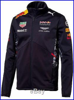 Authentic Puma Red Bull Racing F1 Team 2017 Men Softshell Jacket 762166 01