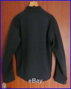 BELSTAFF Men's HARPFORD Down & Soft Shell Jacket Black L XL