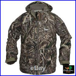 Banded Gear Mingo Soft Shell Wader Jacket Duck Hunting Coat Max-5 Camo Medium