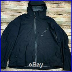 Burton AK Gore Tex Men's Snowboarding AK 3L Sqwawk Jacket Soft Shell Black XL