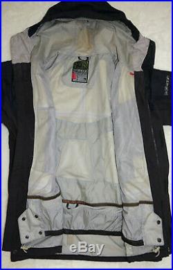 Burton Ak Jacket Soft Shell Gore-tex Black Parka Mens Large