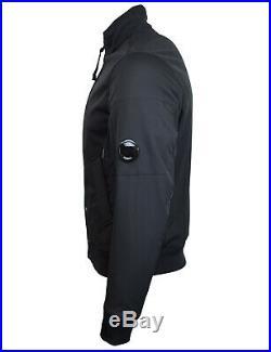 CP Company Black Arm Lens Soft Shell Harrington Jacket BNWT RRP £325