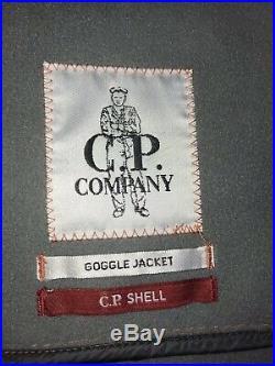 CP Company Soft Shell Goggle Jacket Size 52