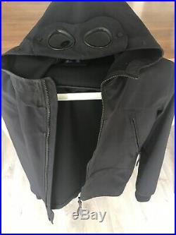 Cp company soft shell goggle jacket Black Size 14 Or Small Adult