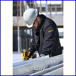 DEWALT 20V MAX Soft Shell Heated Work Jacket (Black, 3XL) DCHJ072B3X New