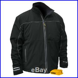 DEWALT 20V MAX Soft Shell Heated Work Jacket (Black, Medium) DCHJ072BM New