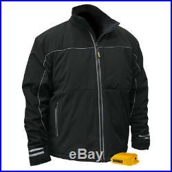 DEWALT 20V MAX Soft Shell Heated Work Jacket (Black, XL) DCHJ072BXL New