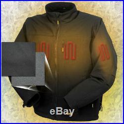 DeWalt DCHJ060ABB-XL 20V Black Soft Shell Heated Jacket (Jacket Only) XL New