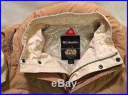 ENDS WED! Star Wars LUKE SKYWALKER ECHO BASE Jacket Coat Rare SZ LARGE Columbia