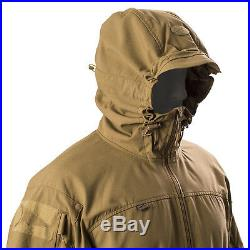 FIRSTSPEAR Coyote Wind Cheater 2X Large 2XL XXL Hooded Jacket Soft Shell Breaker
