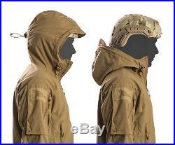 FIRSTSPEAR Coyote Wind Cheater Medium Med M Hooded Jacket Soft Shell Breaker