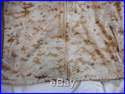 GENUINE USMC US MARINES MARINE marpat 180S APECS CDJ SOFT SHELL COMBAT JACKET L