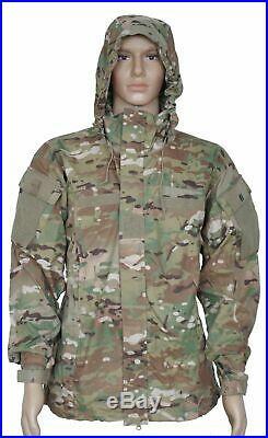 GI GEN III Level 5 Soft Shell Jacket Multicam USA Made Size Large Long