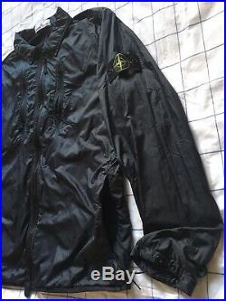 Genuine Stone Island soft shell Nylon Jacket L P2P 22 Chest 44