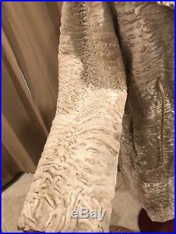 Gucci Persian lamb to suede fully reversible fur jacket coat RARE ELEGANT 2 in 1