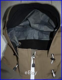 Haglofs Gore-Tex Soft Shell Recco XL Ski Snowboard Jacket Mens Brown Jacke