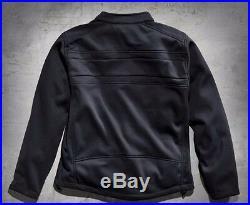 Harley-Davidson Men's Precision Soft Shell Jacket Black 98514-12VM