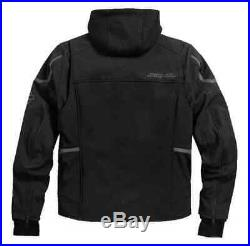 Harley-Davidson Men's Zealot 3-IN-1 Soft Shell Riding Jacket, Black 98294-17VM
