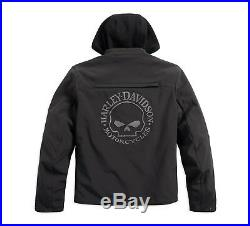 Harley-Davidson Reflective Skull 3-in-1 Soft Shell Riding Jacke Gr. XL Herren
