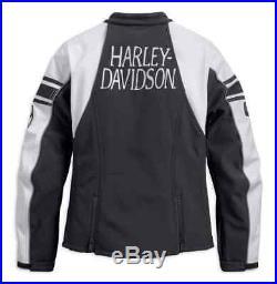 Harley-Davidson Women's Amelia Anne Soft Shell Riding Jacket, 97107-18VW