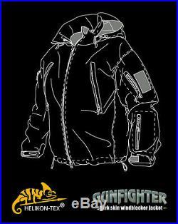Helikon Tex Gunfighter Shark Skin Soft Shell Jacket Navy Blue Marine Blau