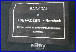 ILSE JACOBSEN HORNBAEK SOFTSHELL RAINCOAT JACKET TAPED SEAMS BREATHABLE size L