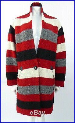 Isabel Marant Etoile Sz 38 UK 10 Woven Coat Jacket