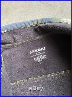 KUIU Teton Soft Shell Jacket Large Verde