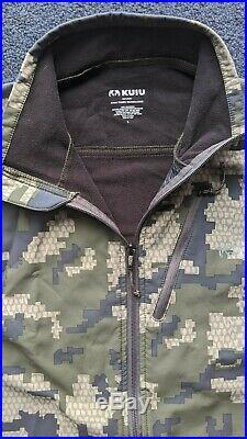 KUIU Teton Soft Shell Jacket Verde L