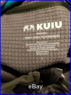 Kuiu Chinook Jacket Vias camo soft shell ultralight hunting Large macro pattern