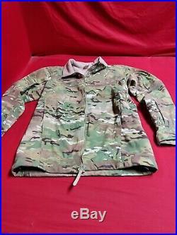 Massif Elements Jacket Multicam MEDIUM Soft Shell USAF