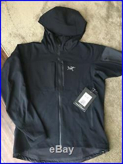 Men's Gamma MX Softshell Blackbird Hoody Arc'teryx Size Medium