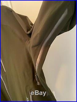 Mens Arcteryx Fury SV Hoody XL Gore WINDSTOPPER Soft shell RECCO
