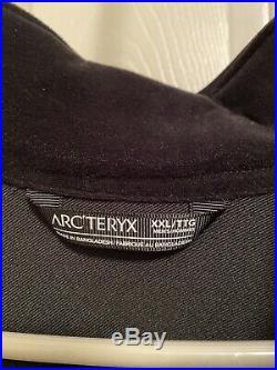 Mens Arcteryx LEAF Patrol Jacket AR soft shell Black XXL