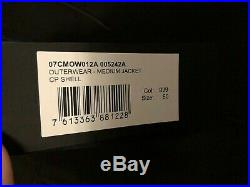 Mens CP Company Soft Shell Goggle Jacket Sz L (50) BLACK BNWT RRP £330
