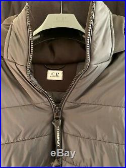 Mens CP company goggle jacket Black Soft shell Large Would Fit Medium Mens
