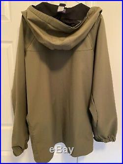 Mens Patagonia Dimensions soft shell jacket hoody XL Alpha Green MARS PCU