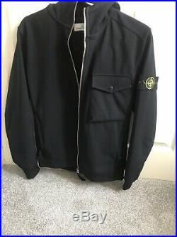 Mens Stone Island Soft Shell-R Jacket
